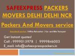 Packers And Movers Delhi | Packers Movers In Gurgaon - SafeExpress Packers Movers