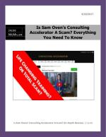 Is Sam Oven's Consulting Accelerator A Scam Everything You Need To Know