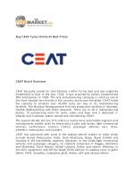 Buy CEAT Tyres Online At Best Prices