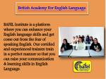 Learn to Speak English - BAFEL