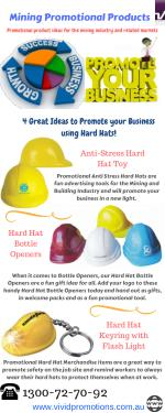 Look Infographic of Mining Promotional Products