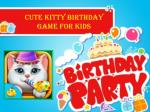 Cute Kitty Birthday Game for Kids
