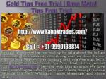 Gold Tips Free Trial | Base Metal Tips Free Trial