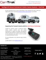 Intelligent & Secure Commercial Vehicle Camera Systems – CamTrak