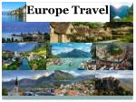 Europe Travel with Kingdom of rentals