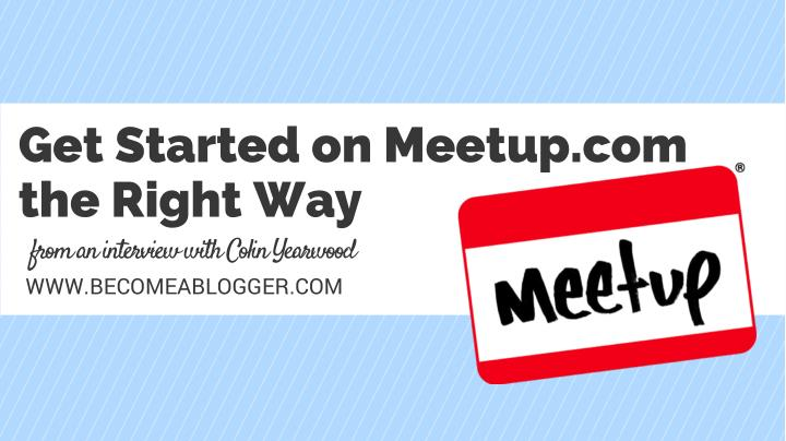 get started on meetup com the right way n.