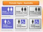 Female Signs - Braille Sign Distributors