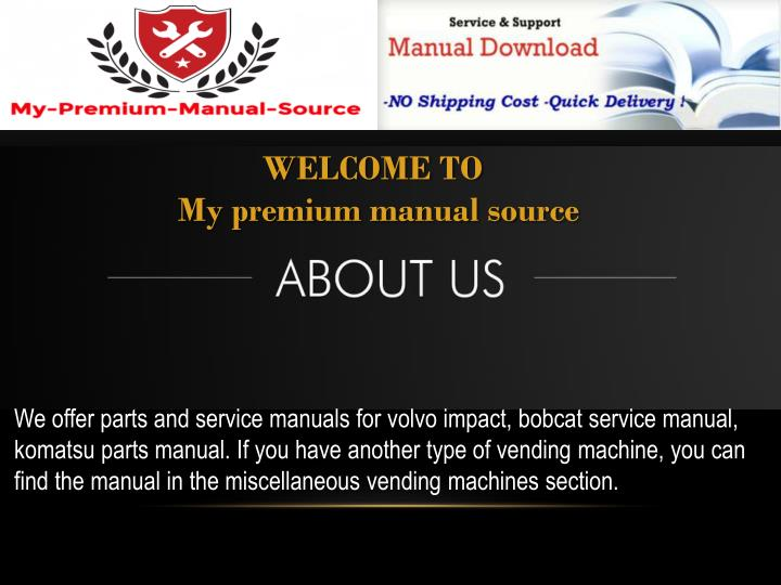 welcome to my premium manual source n.