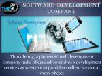 Thinkdebug is Web development and Mobile app development company in indore.