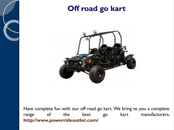 PPT - Fast go karts for sale PowerPoint Presentation - ID:7547088