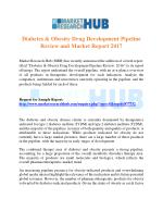 Diabetes & Obesity Drug Development Pipeline Review and Market Report 2017