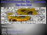 Free Trial Commodity Tips | Commodity Tips Free Trial