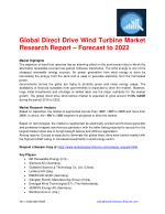 Global Direct Drive Wind Turbine Market Research Report – Forecast to 2022