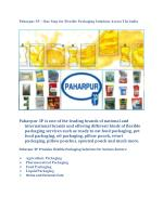 Paharpur 3P – One Stop for Flexible Packaging Solutions Across The India