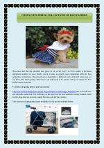 CHECK NEW SPRING COLLECTIONS OF DOG FASHION