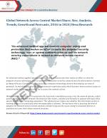 Network Access Control Market Analysis, Size, Share and Forecast Report up to 2024 - Hexa Research