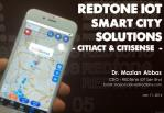 REDtone IOT Smart City Solutions - CitiAct and CitiSense