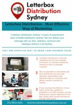 Letterbox Distribution - A Fast and Effective Way to Grow Your Business Sales