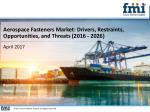 Aerospace Fasteners Market : Growth, Demand and Key Players to 2026