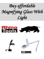 Buy affordable Magnifying Glass With Light