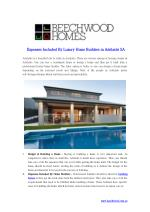 Expenses Included By Luxury Home Builders in Adelaide SA