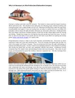 Why Is It Necessary to Hire Professional Relocation Company