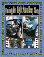 Finding the Right Auto Body Shop