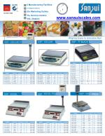 Electronic weighing scale – Sansui Electronics