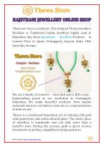 Rajasthani Jewellery Online Shop