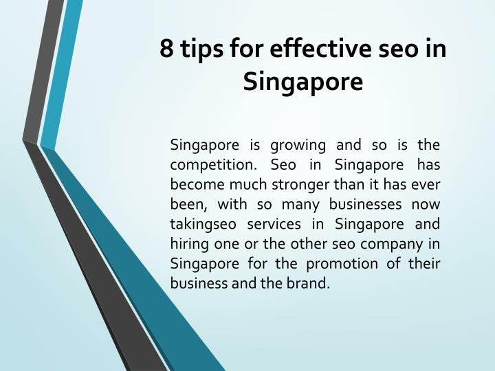 8 tips for effective seo in singapore n.