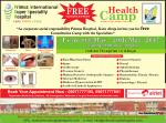 Free health camp in nigeria 8 may to 20 may-2017