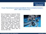 PPT for Power Transmission Components Market