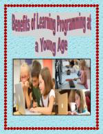 Benefits of Learning Programming at a Young Age