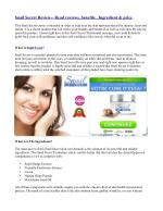 Snail Secret Review-- Read reviews, benefits , Ingredient & price