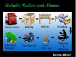 Reliable packers and movers@11th.in/