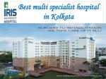 best treatment hospital in west bengol