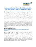 Photopheresis Products Market is expanding at a CAGR of 5.9% from 2016 to 2024