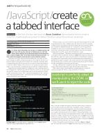Create A Tabbed Interface Part 1