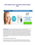 Defi Skincare - Collagen Serum For Younger Looking Skin