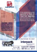 Invitation to Visit Interpack Processing & packaging Leading trade fair