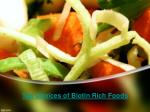 Top Choices of Biotin Rich Foods