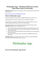 Pitchmaker App review-$26,800 bonus & discount