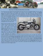 Buy used or new harley davidson motorcycles for sale