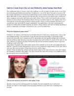 Junivive Cream: Know The very best Method To obtain Younger Skin Back!