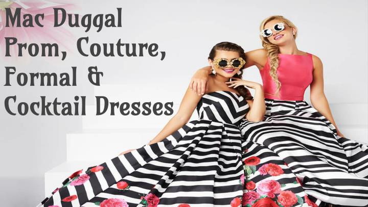 mac duggal prom couture formal cocktail dresses n.