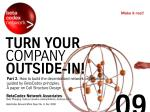 Turn Your Company Outside-In! A paper on cell structure design, part II (BetaCodex09)