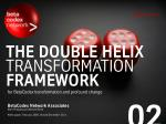 The Double Helix Transformation Framework for BetaCodex transformation and profound change (BetaCodex02)