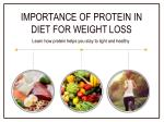 High-Protein Diet for Weight Loss | Foods With Protein | Truweight Tips