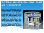 EXHIBITION STALL DESIGNING IN DUBAI