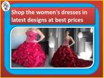 Get the best quality women's dresses from Darius Cordell